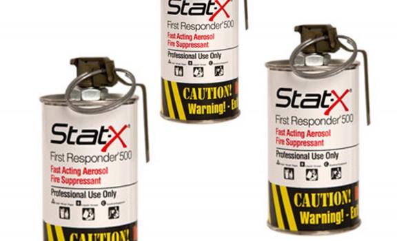 3 unités Stat-X First Responder sans boitier de transport