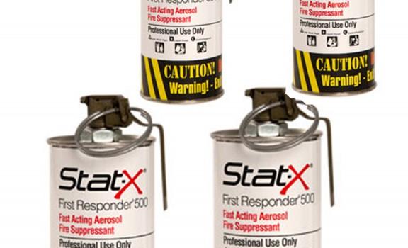 4 unités Stat-X First Responder sans boitier de transport