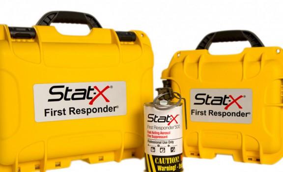 1 unité Stat-X First Responder avec boitier simple de couleur jaune
